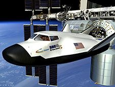 Image above: The CCP proposal being<br /> developed by Sierra Nevada of Louisville,<br /> Colo.is the Dream Chaser spacecraft, shown<br /> in this artist&#39;s concept.<br /> Image credit: Sierra Nevada&nbsp;&nbsp;<br /> <a href='http://www.nasa.gov/images/content/721783main_Dream%20Chaser.jpg' class='bbc_url' title='External link' rel='nofollow external'>� View Larger Image</a>