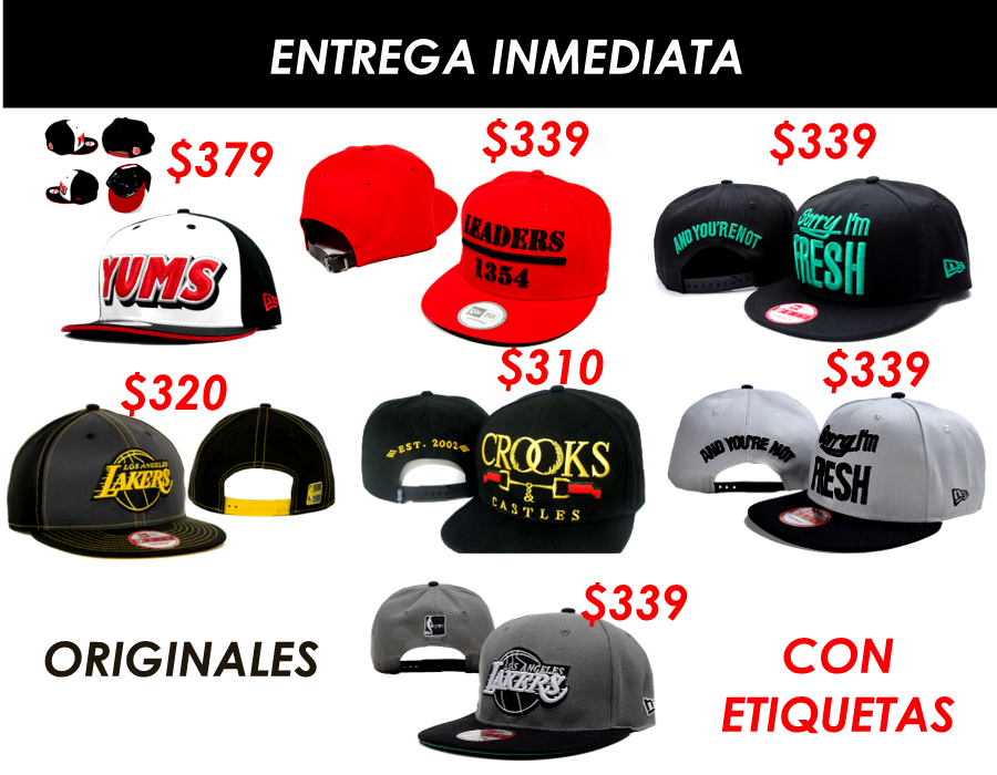 Snapback Gorras Yums Ymcmb Obey Bulls Originales Remate - San ...