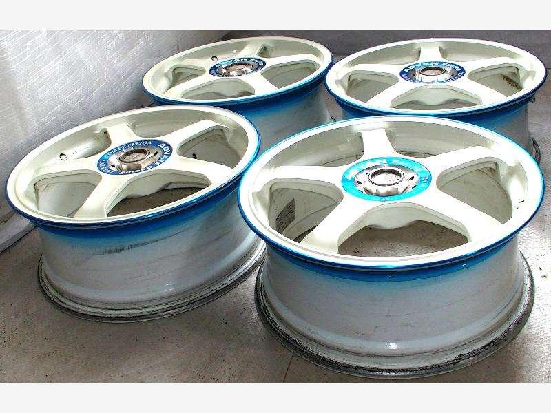 Advan wheels alloy rims 17 7J 5x100 GC8 BG5 Celica A4 A3 Leon