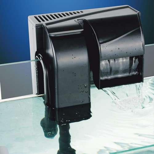 Hbl 502 filtro esterno a zaino zainetto cascata 4w 500 l h for Acquario con filtro esterno