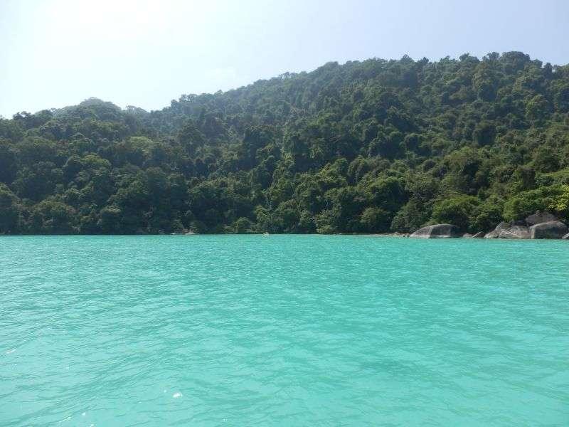 Schnorchelstelle South Surin Inseln