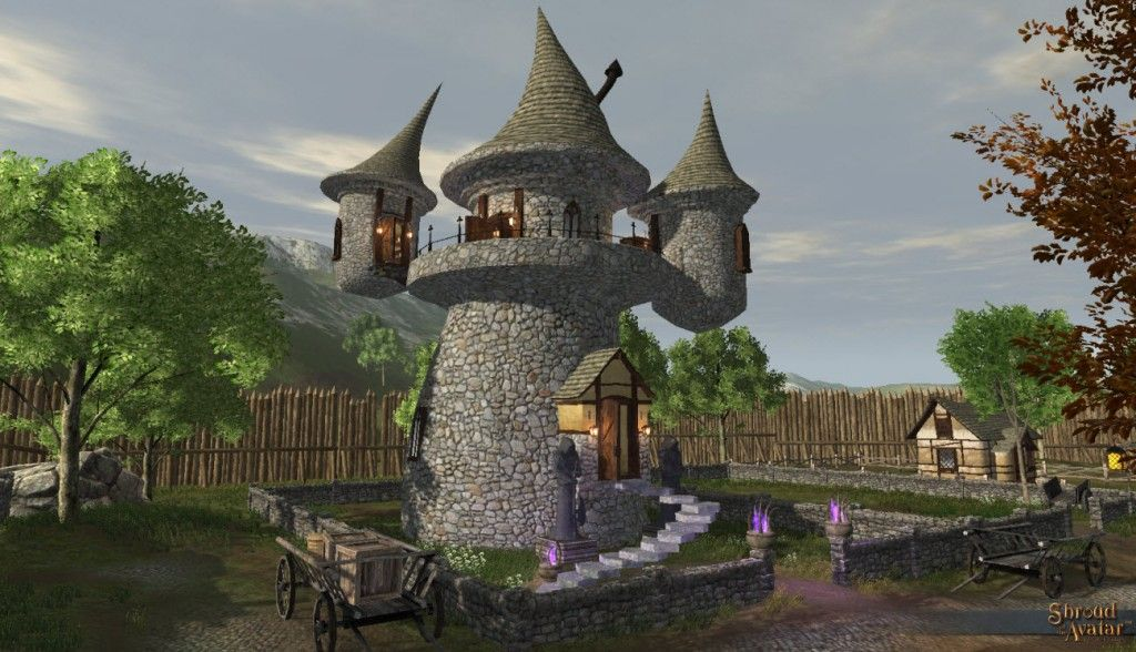 The Wizard Tower Thumps Up Shroud Of Avatar Forum