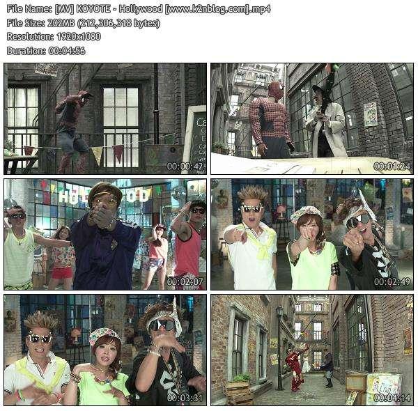 [MV] KOYOTE - Hollywood [HD 1080p Youtube]
